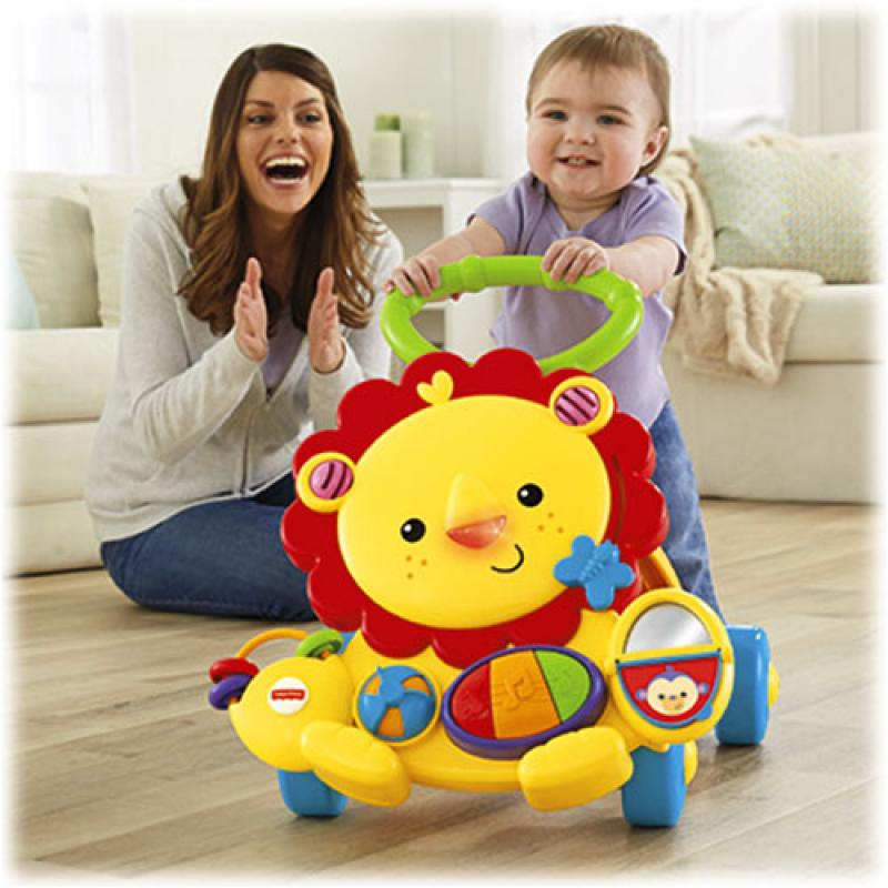 Andador Amigos da Floresta da Fisher Price