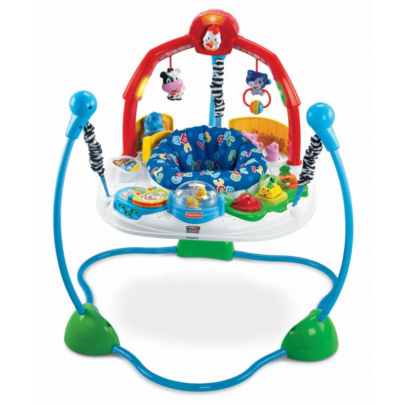 Jumperoo Fazendinha da Fisher Price