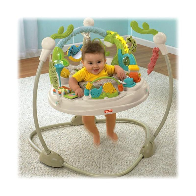 Jumperoo (pula-pula) Animal Krackers