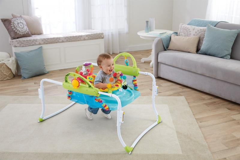 Jumperoo (pula-pula) Primeiros Passos Fisher Price