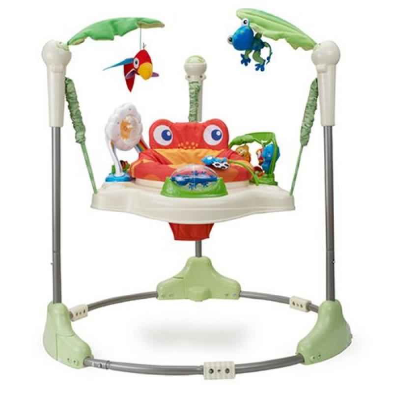 Jumperoo (pula-pula) Rainforest da Fisher Price